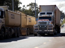 truck traffic shock: 'recipe for disaster'